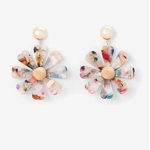 Express Daisy Resin Earrings